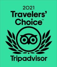 Trip Advisor Travelers Choice 2021